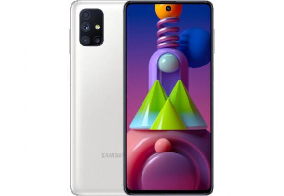 Смартфон Samsung Galaxy M51 SM-M515 128 ГБ белый