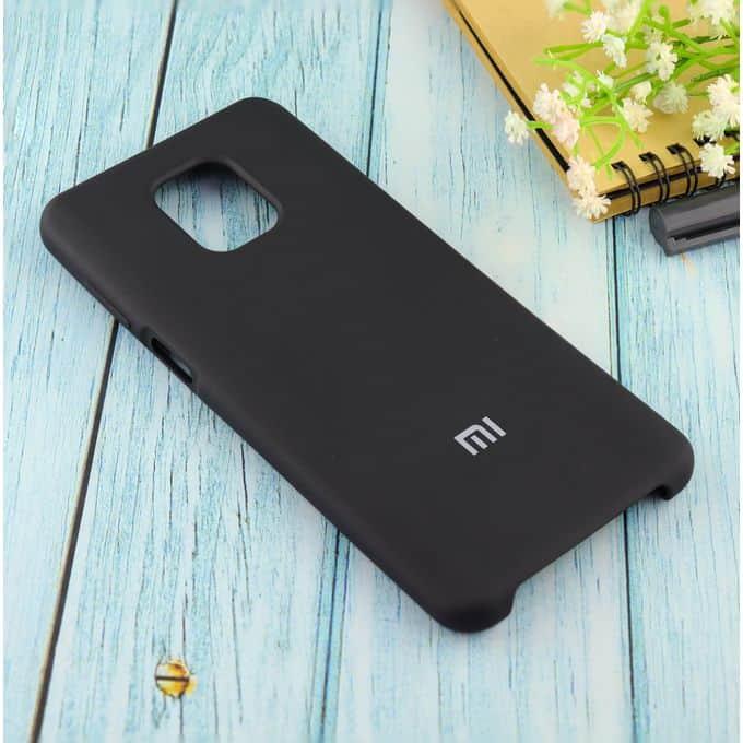 Чехол Silicone case для Xiaomi Redmi Note 9 Pro/note 9S/note 9 Pro Max чёрный(18)