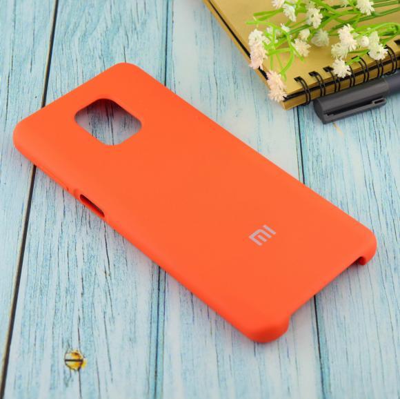 Чехол Silicone case для Xiaomi Redmi Note 9 Pro/note 9S/note 9 Pro Max абрикос (2)
