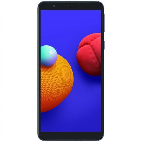 Смартфон Samsung Galaxy A01 Core 1/16Gb синий