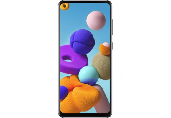 Смартфон Samsung Galaxy A21s 2020 A217F 3/32Gb Black