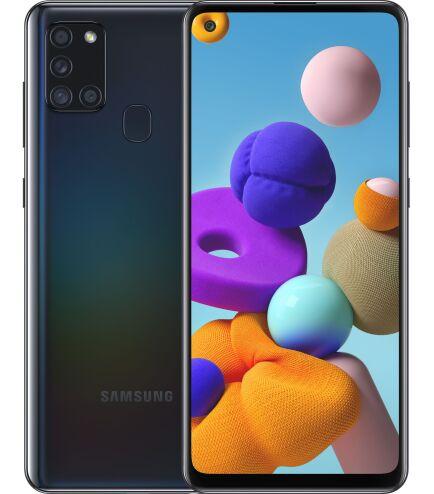 Смартфон Samsung Galaxy A21s 2020 A217F 3/32Gb Black