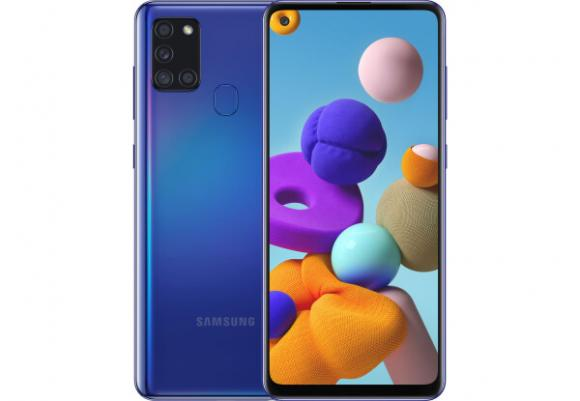 Смартфон Samsung Galaxy A21s 2020 A217F 3/32Gb Blue