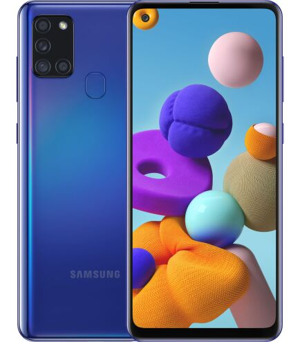 Смартфон Samsung Galaxy A21s 2020 A217F 4/64Gb Blue