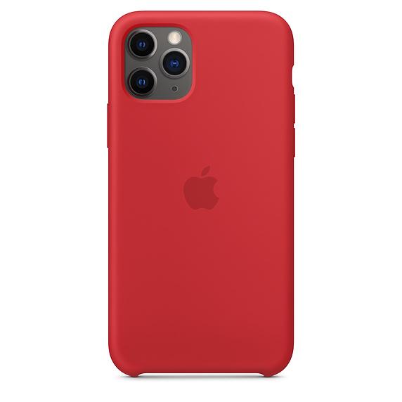Чехол Silicone Case для iPhone 11 Pro (Красный) (14)