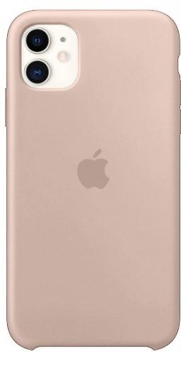 Чехол Silicone Case для iPhone 11 (Пудровый) (19)