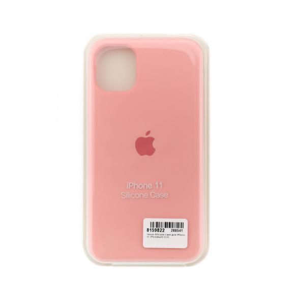 Чехол Silicone Case для iPhone 11 (Розовый) (12)