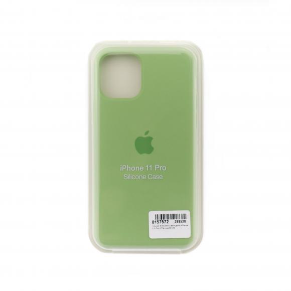 Чехол Silicone Case для iPhone 11 Pro (Мятный) (1)