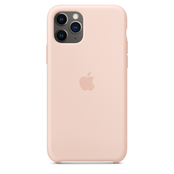 Чехол Silicone Case для iPhone 11 Pro (Пудровый) (19)