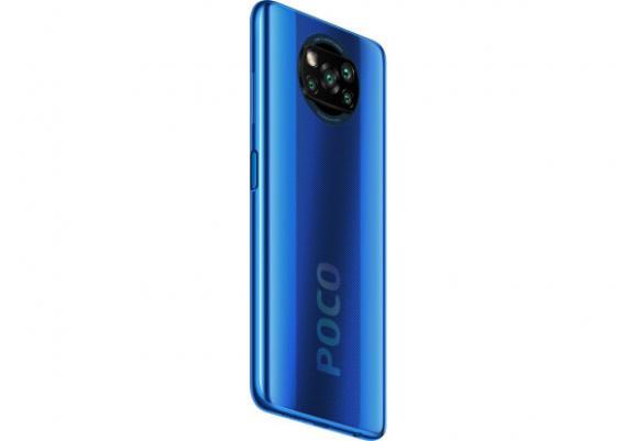Смартфон Poco X3 6/128Gb Cobalt Blue