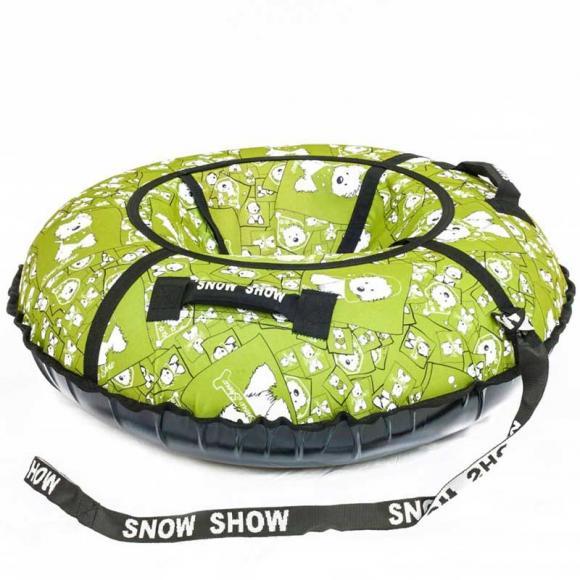 "Тюбинг Snow Show ""Lars green"" D-90 см"