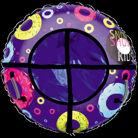 Тюбинг дизайн Взрывные пончики 105 см
