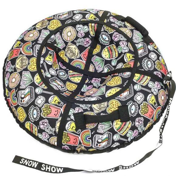 """Тюбинг Snow Show """"современный мир"""" D-120 см"""