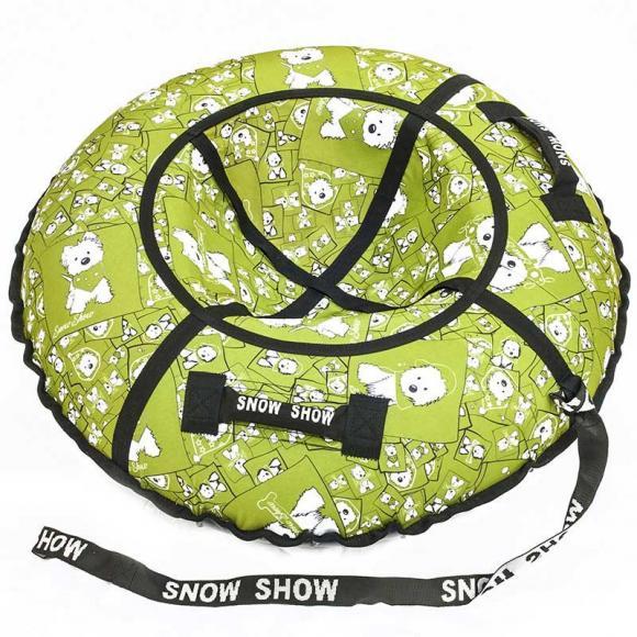 "Тюбинг Snow Show ""Lars green"" D-120 см"