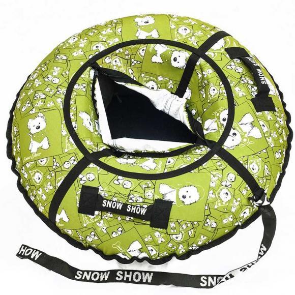"Тюбинг Snow Show ""Lars green"" D-105 см"