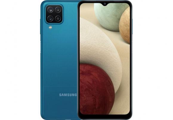 Смартфон Samsung Galaxy A12 4/64GB Blue