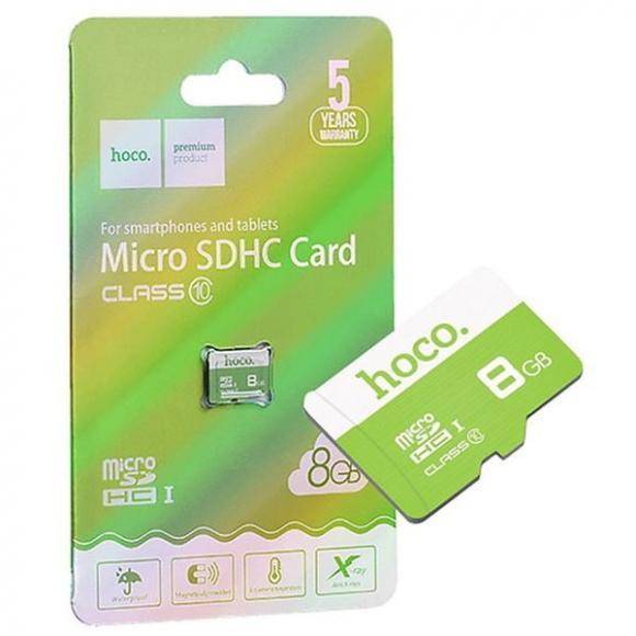 Карта памяти Hoco microSD 8GB Class10