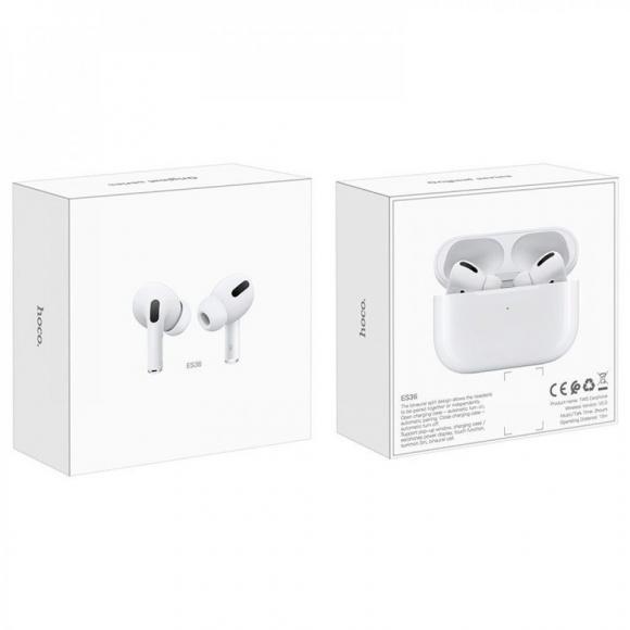 Наушники bluetooth HOCO ES48 Original series apple generation 3 white