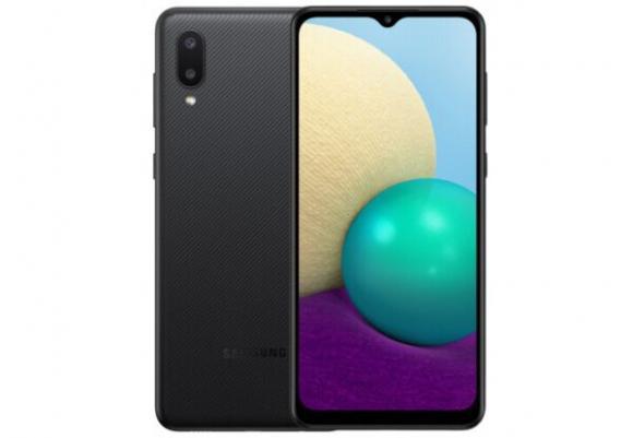 Смартфон Samsung Galaxy A02 2/32GB Black