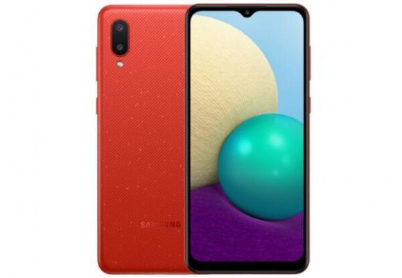 Смартфон Samsung Galaxy A02 2/32GB Red