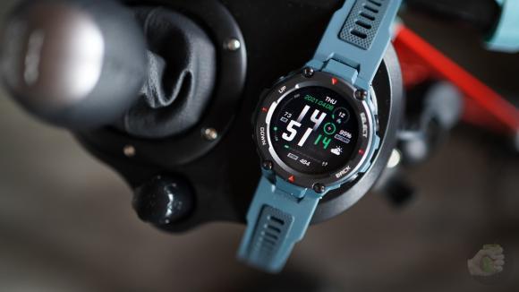 Смарт-часы Amazfit A2013 T-Rex Pro Steel Blue