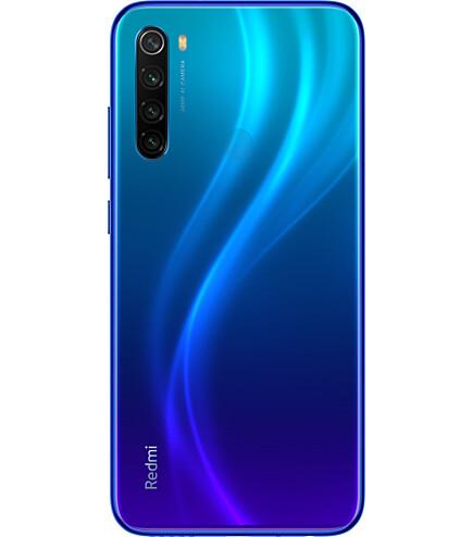 Смартфон Xiaomi Redmi Note 8 2021 4/64Gb  Blue